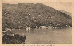RIVA DI SOLTO - LAGO D´ISEO - F/P - VIAGGIATA 1947 - XR00512 - Italia