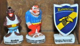 Feves Baba, Astérix Chez Les Bretons, Bouclier Ravenclaw - Strip