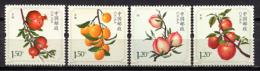 China 2014 / Fruits MNH Frutas Frucht / C10606  1 - Frutas