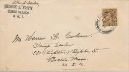 TURKS + CAICOS ISLANDS - 1936 - Turks & Caicos