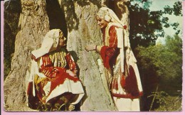 The Macedonian National Costume In Lazarpolje, Yugoslavia () - Europe