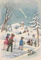 AUGURI FESTE - Buon Natale - Merry Christmas - Feliz Navidad - Joyeux Noël - Frohe Weihnachten - Allegoria - 1962 - Non Classificati