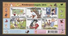 Nederland / The Netherlands - Postfris / MNH - Sheet Kinderpostzegels 2015 - Ongebruikt