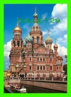 SAINT-PÉTERSBOURG, RUSSIE - LA CATHÉDRALE SAINT-SAUVEUR SUR LE SANG VERSÉ - 1883-1907 - A, PARLAND - - Russie