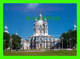SAINT-PÉTERSBOURG, RUSSIE - LA CATHÉDRALE DE SMOLNY, 1748-1764 - F. B. RASTRELLI - - Russie