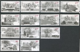 China 2015 - 2e Guerre Mondiale, 70e Ann De La Resistance Du Peuple Chinois - 13 Val Neufs // Mnh Set - Unused Stamps