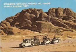 CT--N--1010--   SPEDIZIONE GEOLOGICA ITALIANA NEL TENERE´ SAHARA NIGERINO  1977 - Missioni