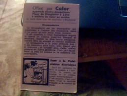 Vieux Papier Publicitaire Vignette Chromo   Collector Calor  Le Dromadaire   Vintage - Publicités