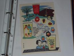 BUVARD Publicitaire  BLOTTING PAPER   -Centre National D'information Et D'expension Des Jus De Fruits Et Légumes - Softdrinks