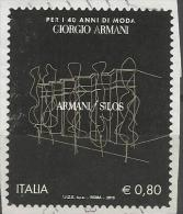 Italia 2015, Quarant´anni Armani (o) - 6. 1946-.. Repubblica
