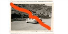 55 TARGA FLORIO 1971 LARROUSSE - ELFORD PORSCHE 908/3 MARTINI  FOTO ORIGINALE 9X13 CERDA - Deportes