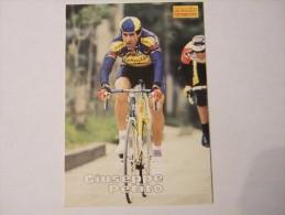 FIGURINA TIPO CARDS MERLIN ULTIMATE, CICLISMO, 1996,  CARD´S N° 73 GIUSEPPE PETITO - Ciclismo