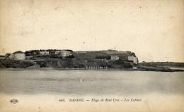 83 BANDOL Plage De René Cros Les Cabines  ELD - Bandol