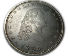 Replica U.S Flowing Hair Dollar 1795 - Federal Issues
