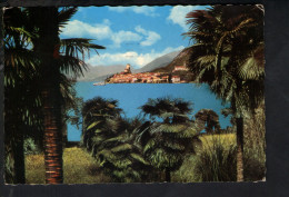 P4290 LAGO DI GARDA, MALCESINE ( Verona ) - Panorama - BORDO DENTATO - VIAGGIATA 1976 - Italia