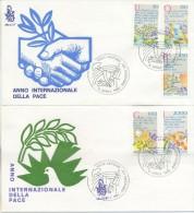 VATICANO - FDC  VENETIA 1986 - ANNO INTERNAZIONALE DELLA PACE - FDC