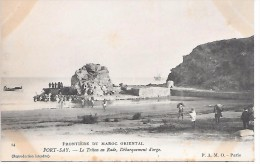 MAROC - Frontière Du Maroc Oriental - PORT SAY - Le Triton En Rade, Débarquement D'orge - Marokko