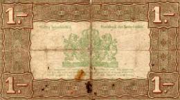 Serie DY  N° 083339  -  Zilverbon  - Groot EEN Gulden  - 1- - [2] 1815-… : Regno Dei Paesi Bassi