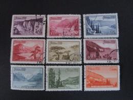 Russie. 1959. Yvert N° 2243 à 2251 Oblit. Paysages Divers De Régions D'URSS. - 1923-1991 UdSSR