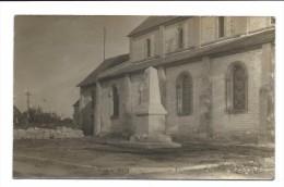 Rare CARTE PHOTO - MUIDS - Monument Aux Morts - Muids