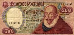 Banco De Portugal  - Quinhento Escudos  - Lisboa 4 De Outubro De 1979  - Francisco Sanches - Portugal