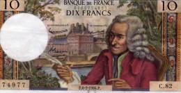Banque De France  - Dix Francs  - P.6-2-1964.P. - 1962-1997 ''Francs''