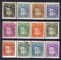 Andorra 1937-43 Serie N. 47-60 Stemmi MVLH (manca Il N. 56) Catalogo € 8 - Andorra Francese