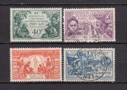 1931      YVERT  Nº   80 / 83 - Oceanía (1892-1958)