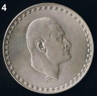 Egypt , Aegypten 1 Pound 1970 Silber Münze Coin President Nasser - Egypte