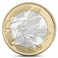 FINLAND FINLANDE FINNLAND 5 EURO NORTHERN NATURE - WILDERNESS 2014 - Finland