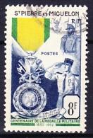 SAINT PIERRE ET MIQUELON 1955-56 YT N° 347 Obl. - St.Pierre Et Miquelon