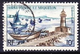 SAINT PIERRE ET MIQUELON 1957 YT N° 357 Obl. - Usati