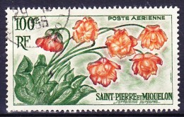 SAINT PIERRE ET MIQUELON POSTE AERIENNE 1962 YT N° PA 27 Obl. - Poste Aérienne