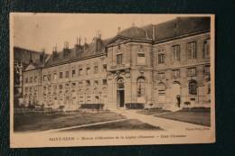 CPA  93 *ST DENIS   MAISON D EDUCATION DE LA LEGION D HONNEUR COUR D HONNEUR - Saint Denis