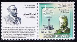 Guine BI. MNH, Nobel Chemistry, Eduard Buchner, German Chemist & Gemologist - Premio Nobel