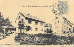 H�tel-Restaurant du Ballon d'Alsace - L�on Stauffer, propri�taire - Edition Schmitt