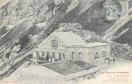 Les Hautes Pyr�n�es - L'Hotellerie du Pic du Midi - Clich� A. Trantoul - carte pr�curseur