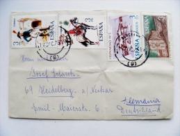 Cover Sent From Spain 1975 - 1931-Hoy: 2ª República - ... Juan Carlos I
