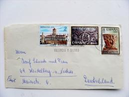 Cover Sent From Spain 1974 Machine Cancel Navidad - 1931-Hoy: 2ª República - ... Juan Carlos I