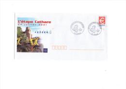 Cyclisme  - Tour De France Cycliste 2001 Lavaur - Cycling - Vélo  (cachet à Date Sur Prêt-à-poster) - Ciclismo