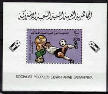 LIBYE   BLOC N° 1001 **    Cup 1982  Football  Soccer  Fussball - Coppa Del Mondo