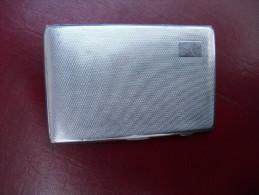 Ancien étui A Cigarettes Métal - Empty Cigarettes Boxes