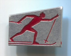BIATHLON Ski Skiing - Sport, Vintage Pin Badge - Biathlon