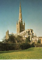 Postcard - Norwich Cathedral, Norfolk. C4084X - Norwich
