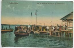 Techirghiol Seaside Resort - The Pier And Trip Boats - Romania