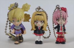 3 Japanese Strap Figurines - Figurines