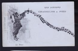 CHASSEURS A PIEDS EN 1900 - Régiments