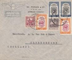 Jordan / Airmail / Holland / Lebanon - Jordan