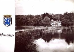 Compiegne - L'Etang De Saint Pierre  Et Le Pavillon De La Chasse De L'Impératrice - Compiegne