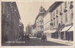 Klagenfurt - Burggasse - Strassenbahn Tram - Klagenfurt